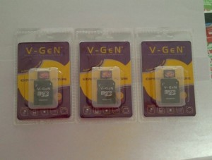 MicroSD Vgen 8GB Class 10 With Adapter
