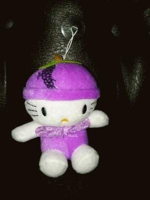 Gantungan boneka Grape kitty