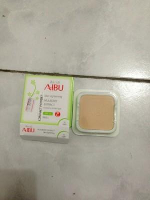 AIBU COMPACT POWDER SPF 15 REFILL WITH MULBERRY  DAN vit c
