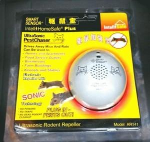 pengusir tikus utrasonic rodent repeller smart sensor = riddex