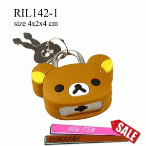 RIL142-1Gembok Rilakkuma