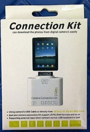 CARD READER CONNECTION KIT FOR ipad