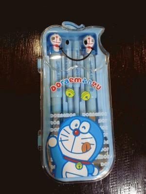 Cutlery Set - Perlengkapan Makan Karakter Doraemon