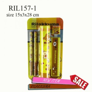 RIL157-1Stationary Big Pencil Rilakkuma