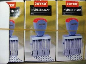 Number Stamp / dater stamp joyko / kenko