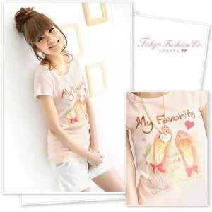 4191 - pink shoes tee