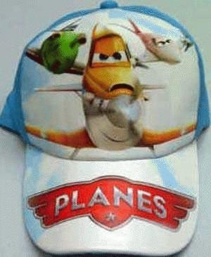 Topi Karakter + Pin: Planes