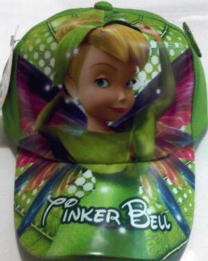 Topi Karakter + Pin: Tinker Bell