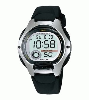 CASIO LADIES LW-200-1AV