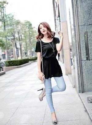dress 1013 black ( import)