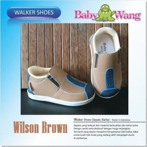 SEPATU BABY WANG - WILSON BROWN