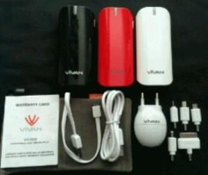 New Vivan Y05 3 warna powerbank 5600mAH top markotop