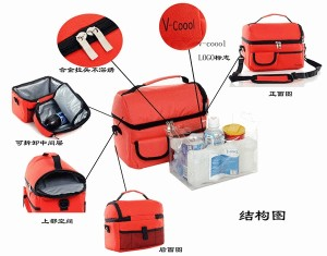 V-coool Bag Multi Function Baby Food Storage
