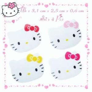 Penghapus Hello Kitty Face 4Color