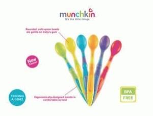 Spoon Munchkin (sendok) Isi 6 Pcs