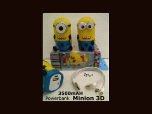 POWERBANK MINION 3D 3500 mAH