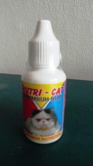 NUTRI CAT 30 ml - Penumbuh Bulu Kucing