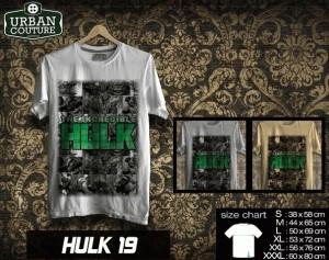 Tshirt HULK Disain HULK 19
