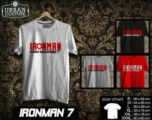 Tshirt IRONMAN Disain IRONMAN 7