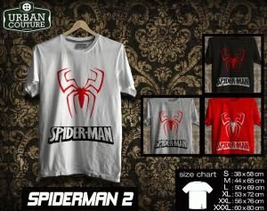 Tshirt SPIDERMAN  Disain SPIDERMAN 2