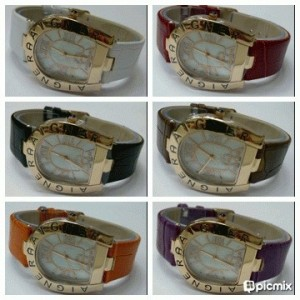 AIGNER LEATHER 15855