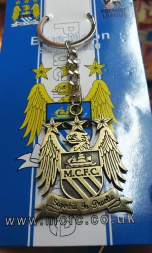 Manchester City Gantungan kunci Gold ( import )