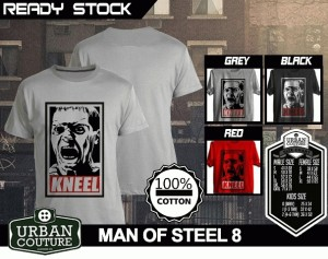 Tshirt MAN OF STEEL  Disain MAN OF STEEL 8