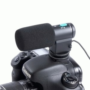 MIC-109 Professional Microphone for DSLR Camcorder