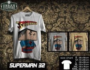 Tshirt SUPERMAN  Disain SUPERMAN  32