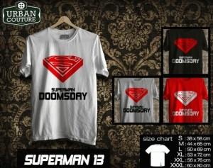 Kaos SUPERMAN  Disain SUPERMAN  13