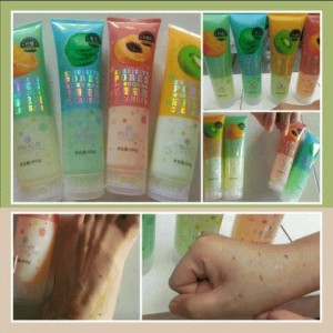daki daki go away/body fruit SPA/peeling gel/pibamy korea