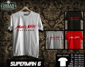 Kaos SUPERMAN  Disain SUPERMAN  6