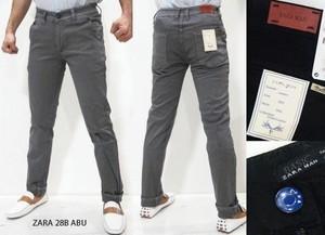 Celana Panjang Chino Zara 28B Abu