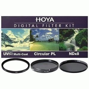 Filter Kit Hoya 52mm (UV, CPL, ND-8)