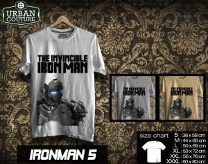 Tshirt IRONMAN Disain IRONMAN 5