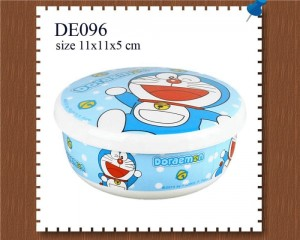 Mangkuk + Tutup SilinDoraemonr Doraemon DE096