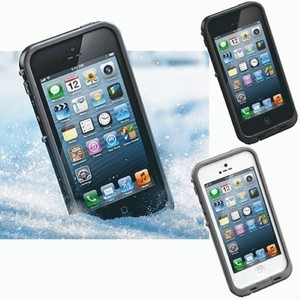 WATERPROOF CASE FOR IPHONE 5 5S ( CASING ANTI AIR DAN KOTORAN)