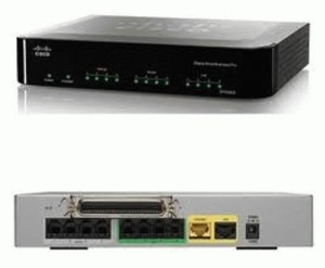 Voice Gateways - Cisco - IP Telephony Gateway with 4 FXS and 4 FXO ports (SPA8800)