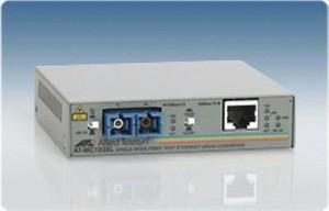 Media Converter - Allied Telesis - 100TX to 100FX (SC) Singlemode (15k