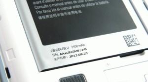 Original 100% Baterai Samsung Galaxy Note1 N7100 3100mah