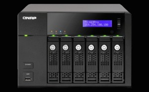 NAS - QNAP - High-performance 6-bay NAS server for SMBs TS-669 Pro