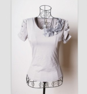 BLOUSE GREY G5121