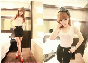 BLOUSE WHITE W7031