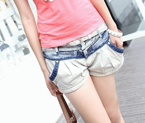 HOT PANTS BEIGE B1816