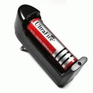 Charger Batere 18650 Untuk Senter Police