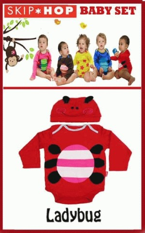 Romper Ladybug (+Topi)