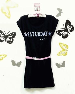 saturday night dress free belt