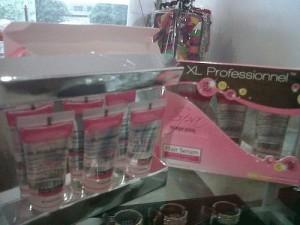 XL professionnel hair serum - pink /invigorating - (utk rambut normal cenderung kering) - 10 ml