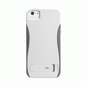Case-Mate iPhone 5 POP! w/Stand - White/Titanium Grey
