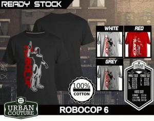 Tshirt ROBOCOP Disain ROBOCOP 6